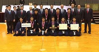 剣道部(男子)第67回全日本学生剣道優勝大会3位入賞
