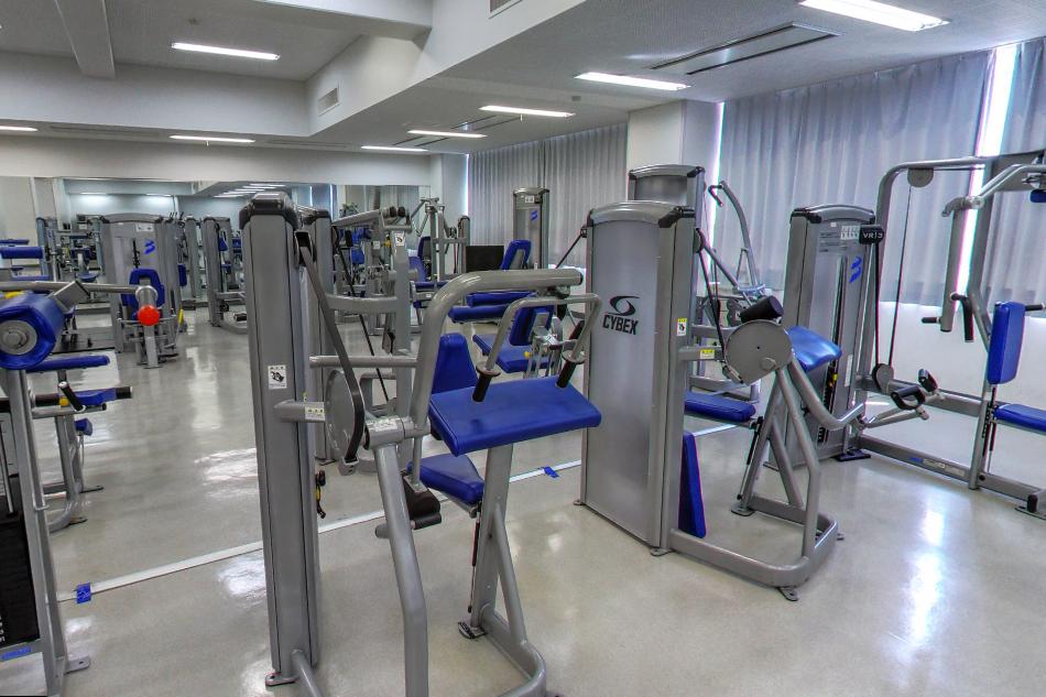 9号館 フィットネストレーニングルーム