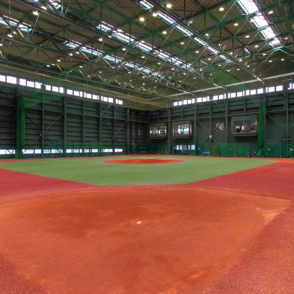 野球場(屋内練習場)